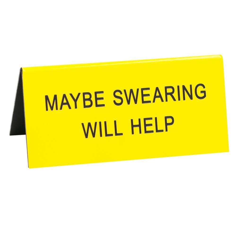 swearing will help sign