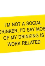 work related sign
