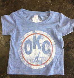 Opolis youth okc double circle tee
