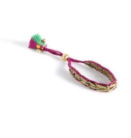 shiraleah magenta trinity bracelet
