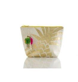 shiraleah pineapple clutch