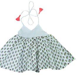 paisley magic leah tassel dress