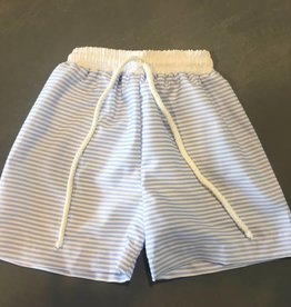 sweet dreams blue stripe swim trunk