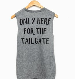 LivyLu only here for the tailgate muscle tank