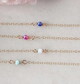 rory ashton sugar dainty opal necklace
