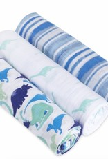 aden+anais jurassic 3 pack classic swaddles
