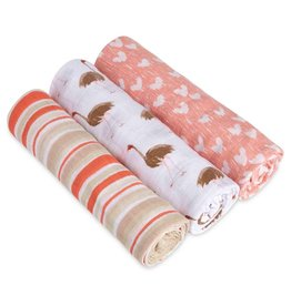 aden+anais flock together 3 pack classic swaddles
