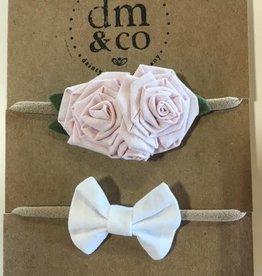dainty mae rosa and mini winnie bundle headbands