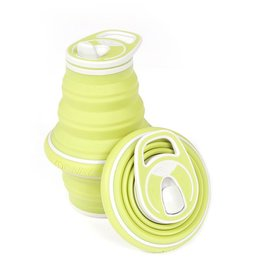 hydaway collapsible water bottle - moss