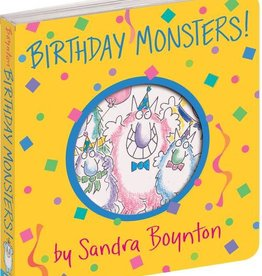 workman publishing birthday monsters book