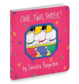 workman publishing one, two, three book