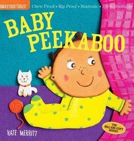 workman publishing indestructibles book: baby peekaboo