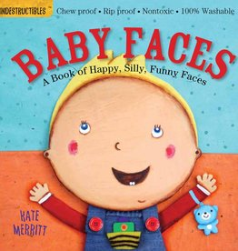 workman publishing indestructibles book: baby faces