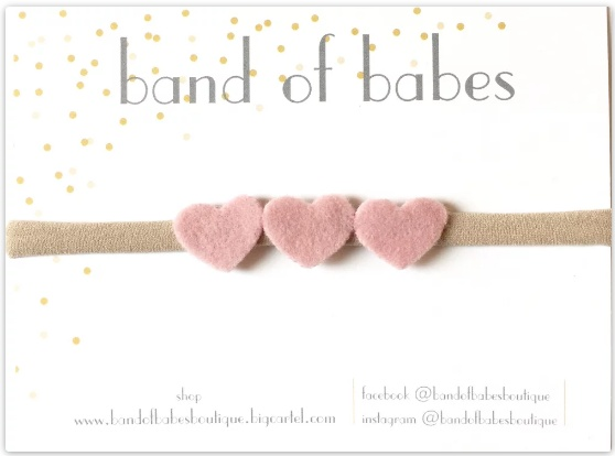 band of babes cashmere heart trio