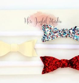 her joyful studio july 4th headband trio