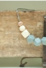 Bella Tunno dim gray teething necklace