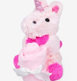 waddle unicorn rattle lovie