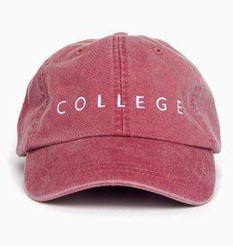 LivyLu red with white college cap FINAL SALE