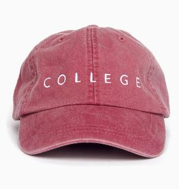 LivyLu red with white college cap