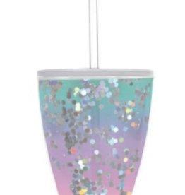 slant 10oz dof aqua/purple ombre tumbler