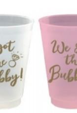 slant 16oz hubby/bubbly 8ct frost flex cups