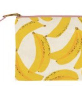 slant bananas cosmetic bag