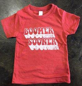 Opolis kids boomer sooner retro shadow tee