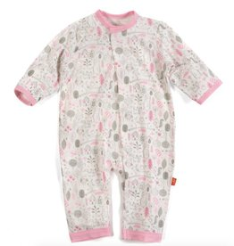 Magnificent Baby magnetic pink into the woods modal coverall