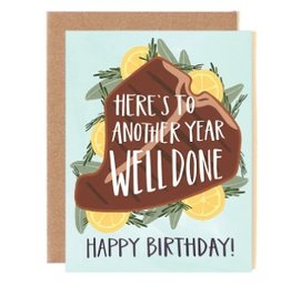 one canoe two well done birthday card