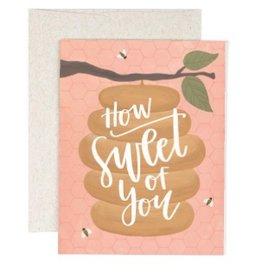 how sweet beehive card