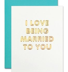 the social type love being married card