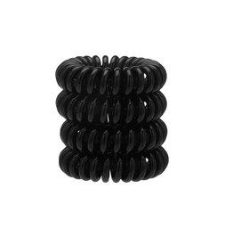 kitsch 4 pack hair coils - black