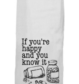 twisted wares its your meds tea towel