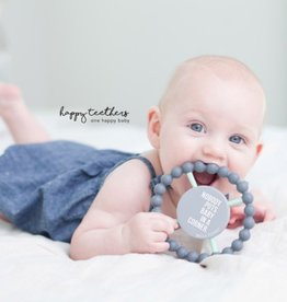 Bella Tunno happy teether - baby in a corner