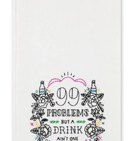 easy tiger 99 problems tea towel