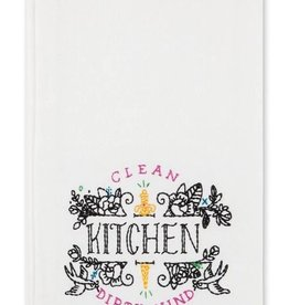 easy tiger clean kitchen tea towel