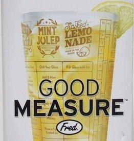 Fred good measure whiskey recipe glass