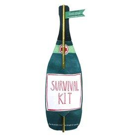 curly girl design survival kit bottle straw card