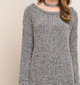 entro terra knot back sweater