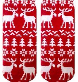 living royal ugly sweater moose ankle socks FINAL SALE