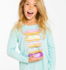 Chaser donut tower long sleeve tee