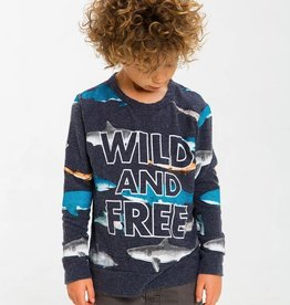 Chaser wild and free pullover