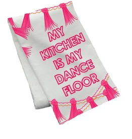 packed party kitchen dance floor towel