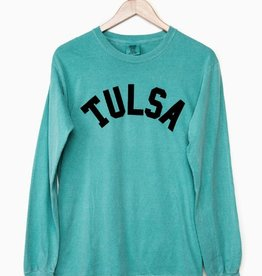 LivyLu tulsa flocked long sleeve cc tee