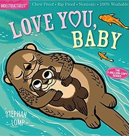 workman publishing indestructibles book: love you baby
