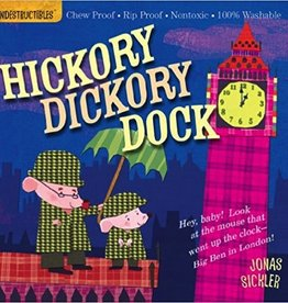 workman publishing indestrucibles: hickory dickory dock