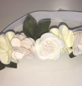 bobana boutique snow angel flower crown