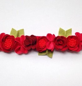 bobana boutique happy holidays flower crown