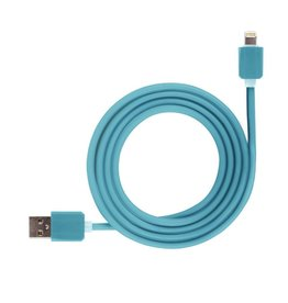 blue silicone cable