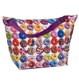 "iscream assorted donuts weekender bag 23.5"" x 16"""